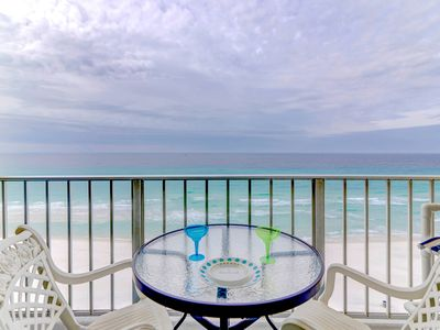 Photo for Mojito Towers 2BR/2BA Updated Beachfront Condo Sleeps 1-8 Beach Chairs Included