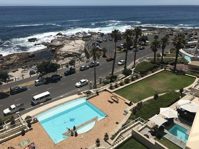 Photo for Beautiful Beach Front Apartment in Bantry Bay
