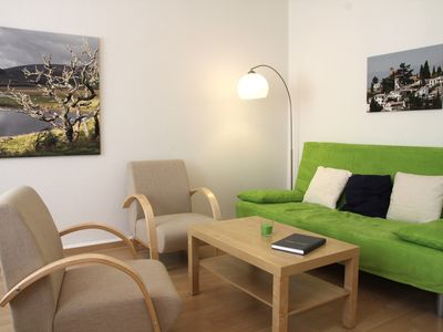 Photo for Modern and friendly 3-bedroom apartment with beautiful garden
