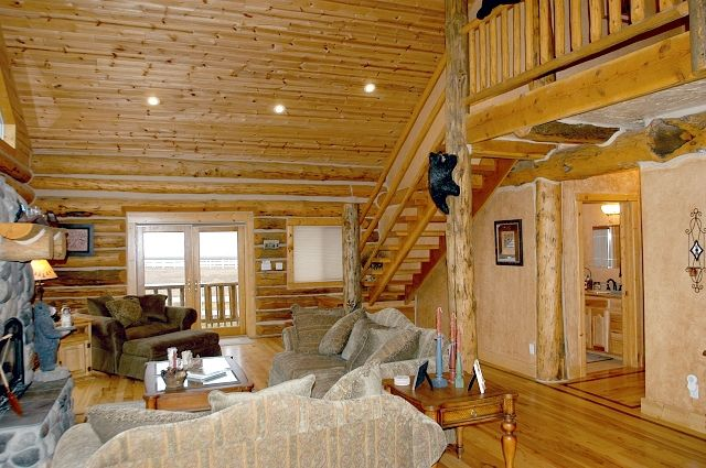 Star Valley All Year Vacation Rental -Custom Log Home-Magnificent Mountain Views