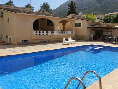 Photo for CHARMING VILLA DENIA MONTGO 5 PEOPLE, BIG POOL 10X5 PRIVATE