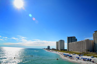 The sugary white sands of the Gulf of Mexico are just steps away!