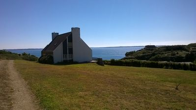 Photo for BIG HOUSE WITH EXCEPTIONAL VIEW ON SEA AND RADE OF BREST