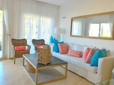 Photo for Tropical Chic Beach Front Apartment