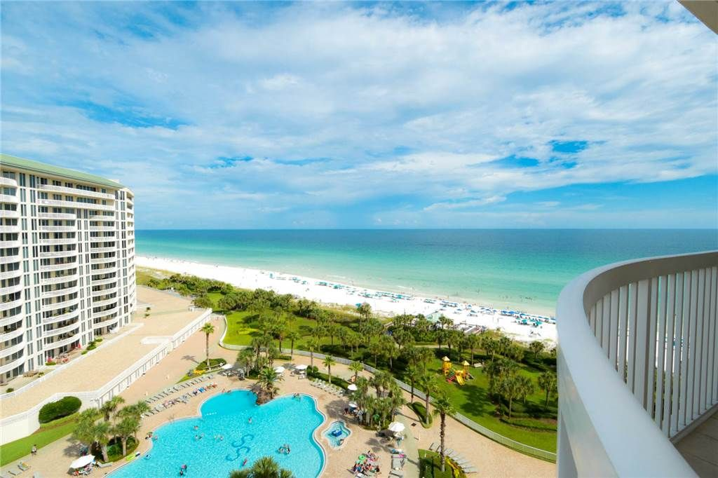 Beachfront condo spacious end unit extra large balcony - 1 bedroom condos in destin fl on the beach ...