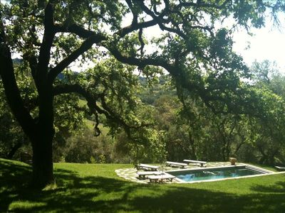 Photo for Private Wine Country Retreat - 3 BR/2 BA on 8 Acres with Pool