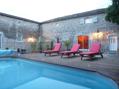 Photo for MAS IN CALM WITHOUT OPPOSITE A 300 METERS OF THE HEATED POOL RIVER 8x4