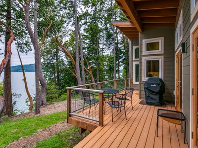 Photo for WATERFRONT HOME WITH VIEWS OF EAST SOUND, TURTLEBACK MOUNTAIN & MADRONA POINT