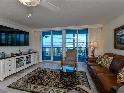 Photo for Treat yourself to a completely remodeled and updated 5th floor 2 bedroom 2 bath ocean front condo.