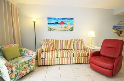 Photo for SB232  Remodeled 2 BR 2 BA Side View Condo, Sugar Sands
