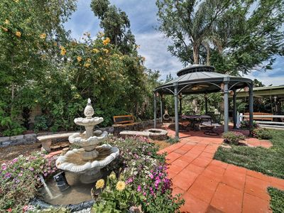 Photo for NEW! Phoenix Home w/ Gazebo, Koi Pond & Waterfalls