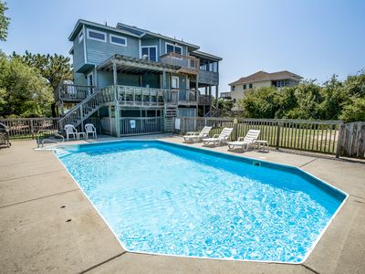 Photo for Halcyon | 475 ft from the beach | Dog Friendly, Private Pool, Hot Tub