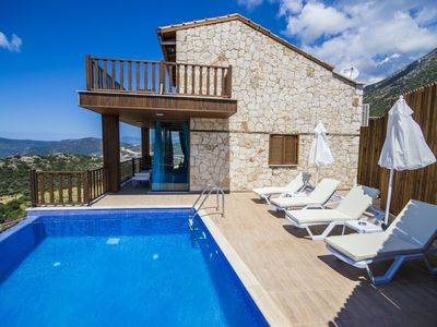 Photo for Stylish 3 Bedroom Villa with Secluded Private Pool and Sea Views