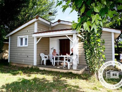 Photo for Camping Le Domaine du Cèdre **** - Maeva Camping - Chalet 3 Rooms 4/6 People