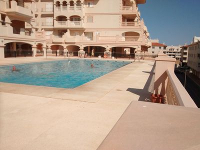 Photo for 3 bedroom spacious apartment overlooking harbour area of Almerimar