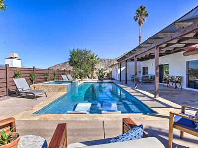 Photo for NEW! Luxe Oasis w/ Hot Tub, Near Golf + Coachella!
