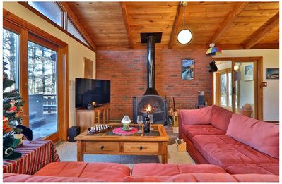 Killington Beautiful, Secluded Ski House, Near Lifts-4 BR/2 BA
