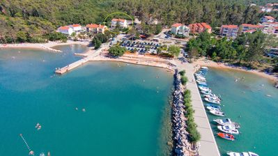 Photo for 2BR Apartment Vacation Rental in Soline, Kvarner Bucht