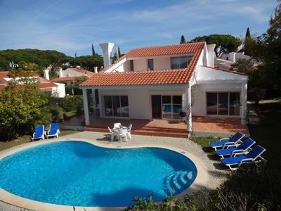 Photo for Close to Vale do Lobo.Detached 3 bedroom villa with pool & wifi.