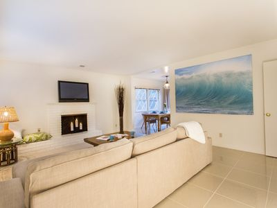 Photo for 2 bedroom, 2 bath, remodeled, family-friendly home a short walk from the beach.