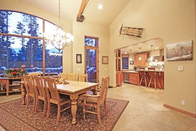 Open Concept Kitchen, Dining and Living Area