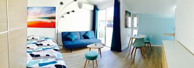 Photo for Very nice studio 26 m2 center Saint-Raphäel