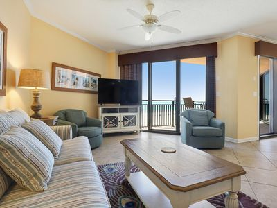 Photo for 404C - Beautiful Sunset views in this 3BR beach condo!