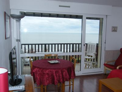 Photo for 2 Rooms SEA VIEW on small trees in Norman style residence
