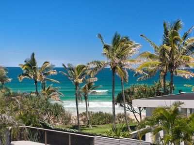 Photo for Enjoy this luxury beachfont home - with large pool, sea breezes & pet friendly