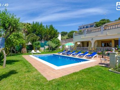 Photo for Saona Villas: Costa Brava, Lloret de Mar, 12 people with private pool