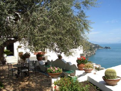 Photo for Casa Ida with beautiful garden and 180° seaview