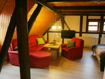 """Photo for """"Herzberg"""" - Guesthouse Tröbs Apartments in the pearl of the southern Harz"""