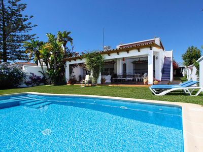 Photo for Casa El Albero - Comfortable family holiday home with pool close to the beach