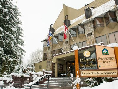 Photo for CHRISTMAS: Ski In/Out Whistler- Mountainside Ldg condo for 6 w HotTub, Parking!
