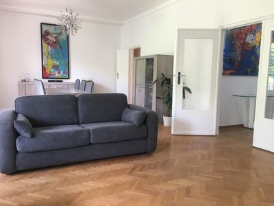 Photo for 3 bedrooms, apt 180m2 + Parking, Center 5min