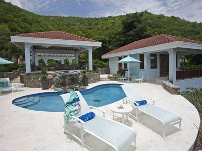 Photo for Ultra-Luxurious Villa, Swimming Pool and Hot Tub, Waterfall, Tennis Court, Mini Golf Field