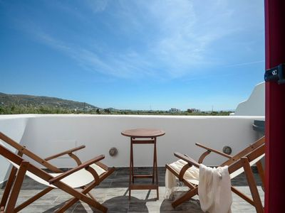 Photo for Red Luxury Villa welcomes you to Naxos