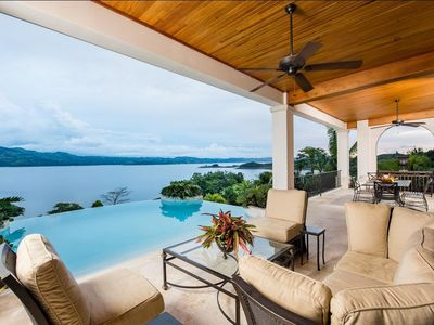 Photo for HELICONIA HALL, Lake Arenal's Finest View Home
