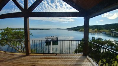 "Photo for ""Dream"" A Beautiful Large Lake Home On Possum Kingdom Lake with Resort Access"