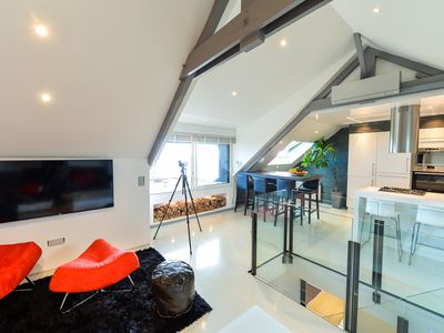 Photo for Luxury Loft - Exceptional sea view 180 °