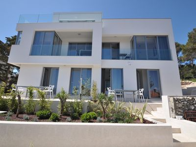 Photo for Design apartment 2, modern  new house with a beautiful seaview and