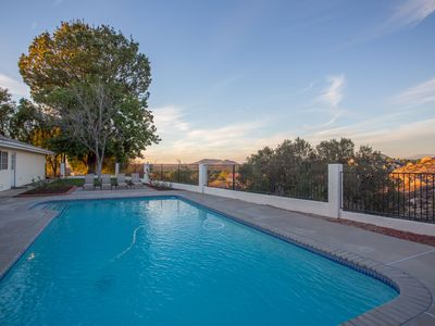 Photo for Close to all wineries, paved roads, pool, spa, views! Easy to get around!!