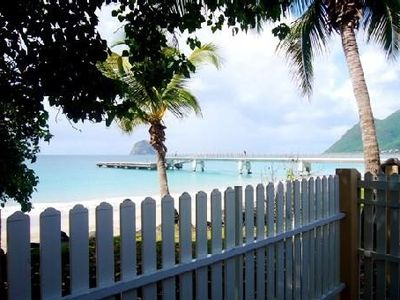 Photo for Luxury villa rental in Martinique feet in water
