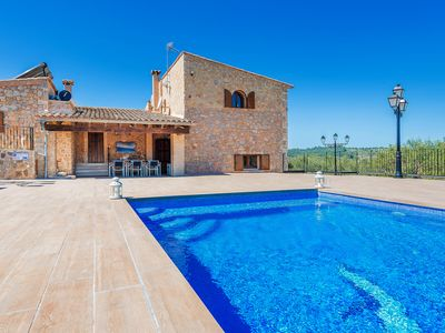 Photo for Stunning stone-built villa with pool – Holiday Cottage