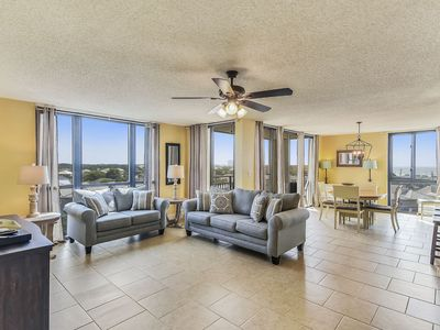 Photo for Stunning Gulf Views | Private Beach Access | 2019 Updates | The Islands @Enclave!