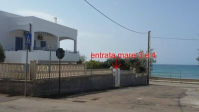 Photo for APARTMENT ON THE SEA WITH AIR CONDITIONING AND WI-FI, SHEETS AND TOWELS