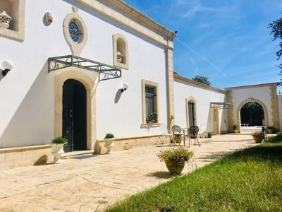 Photo for Ancient and elegant 18th century residence with swimming pool, a few km from the town