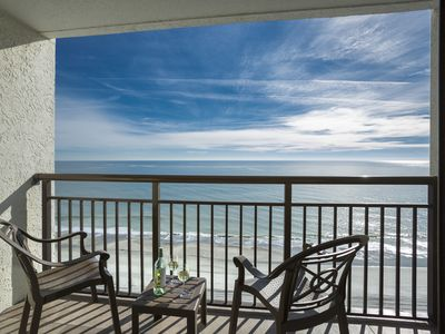 Photo for *FUN FOR ENTIRE FAMILY-OCEANFRONT STEPS TO BEACH CONDO-5 POOLS, SPA, ICE CREAM