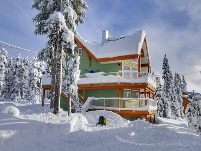 Photo for Mount Washington Village Chalet Ski in/ Ski out Perfect for Large Groups