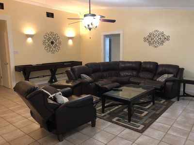 4 bed 2 bath complete with Hot Tub